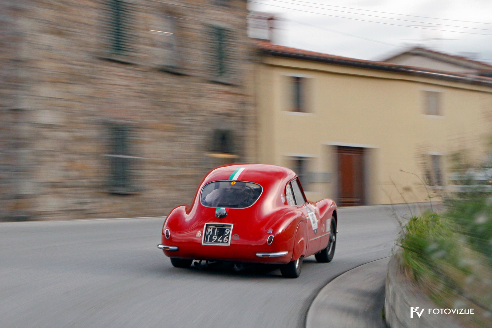 Originalen in lepo aerodinamično oblikovani Fiat 8V.