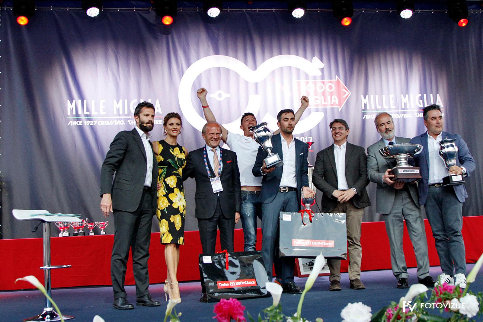Slavnostna podelitev priznanj dirke Mille Miglia 2018