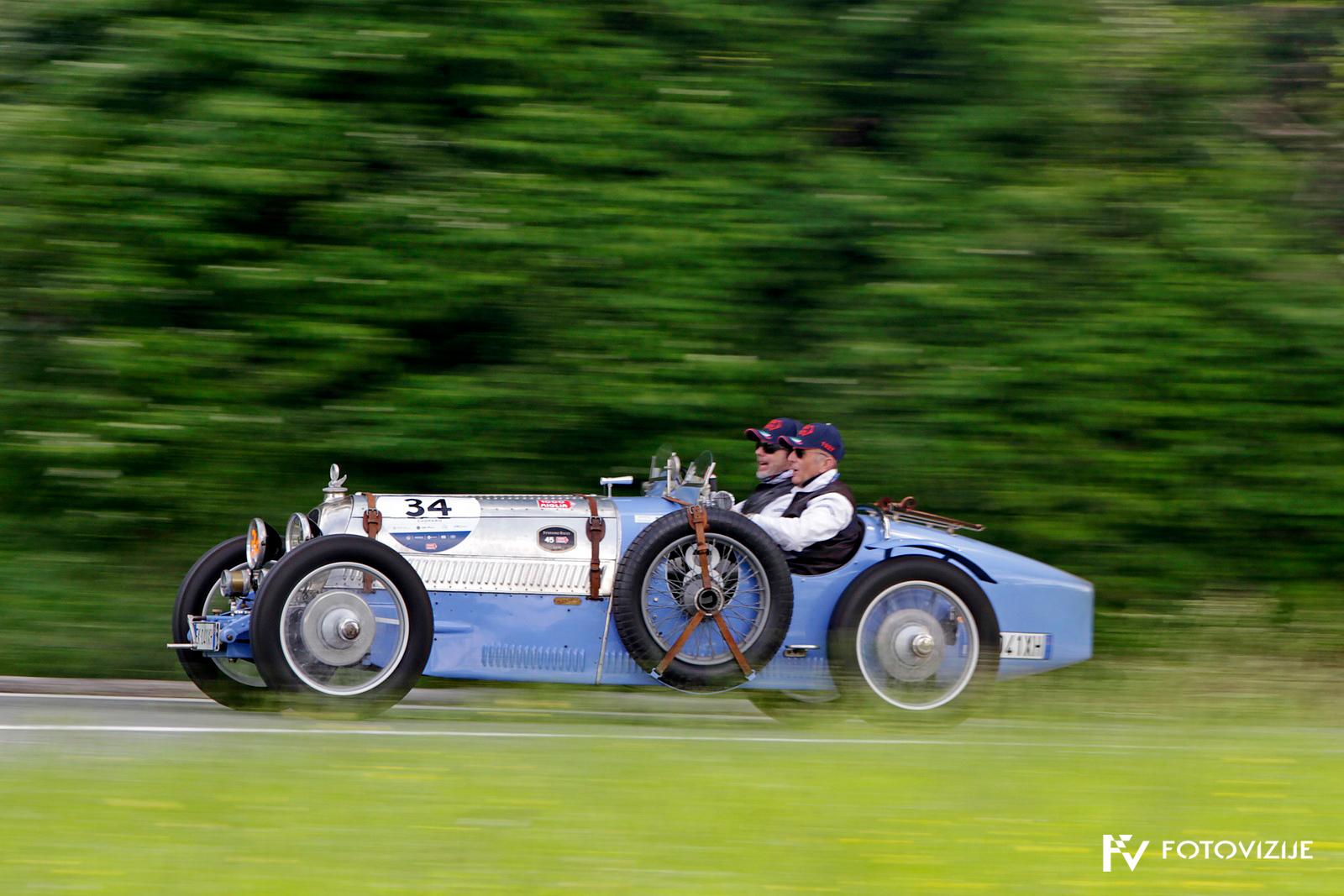 Mille Miglia 2018: B.N.C 527 grand sport pred San Marinom