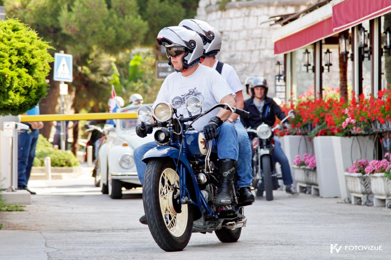 FIVA world moto rally 2019, prvi dan - hrvaška Istra - Poreč