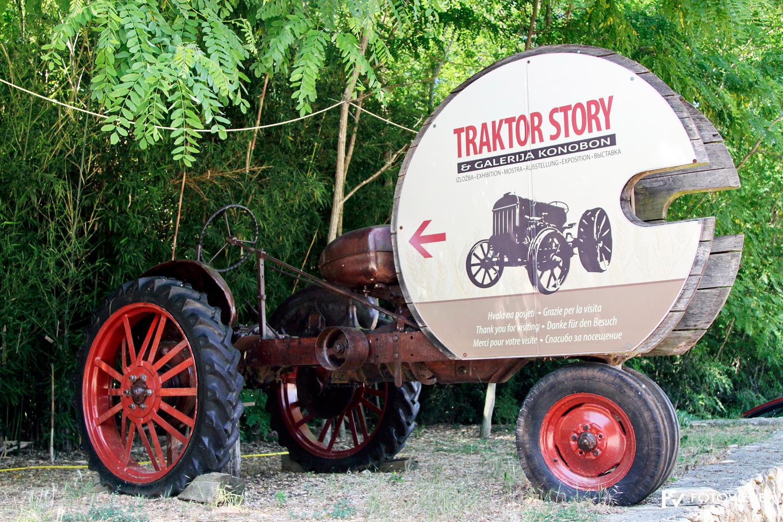 FIVA world moto rally 2019, prvi dan - hrvaška Istra - Muzej traktorjev Baredine
