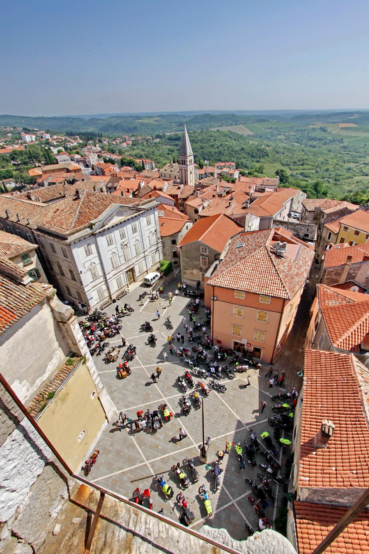 FIVA world moto rally 2019, prvi dan - hrvaška Istra - Buje