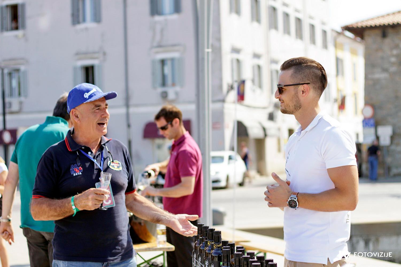 FIVA world moto rally 2019, drugi dan - slovenska Istra - Koper