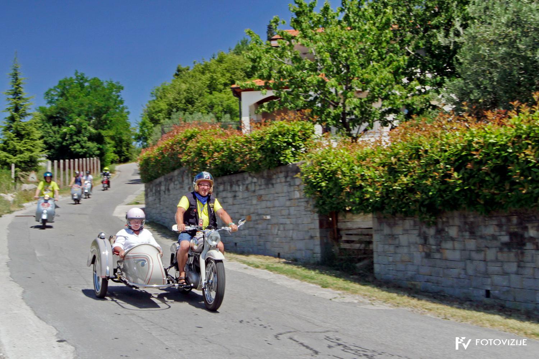 FIVA world moto rally 2019, drugi dan - slovenska Istra