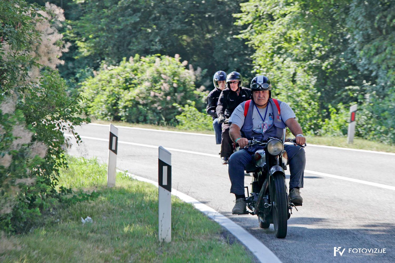 FIVA world moto rally 2019, drugi dan - slovenska Istra, sečoveljske soline