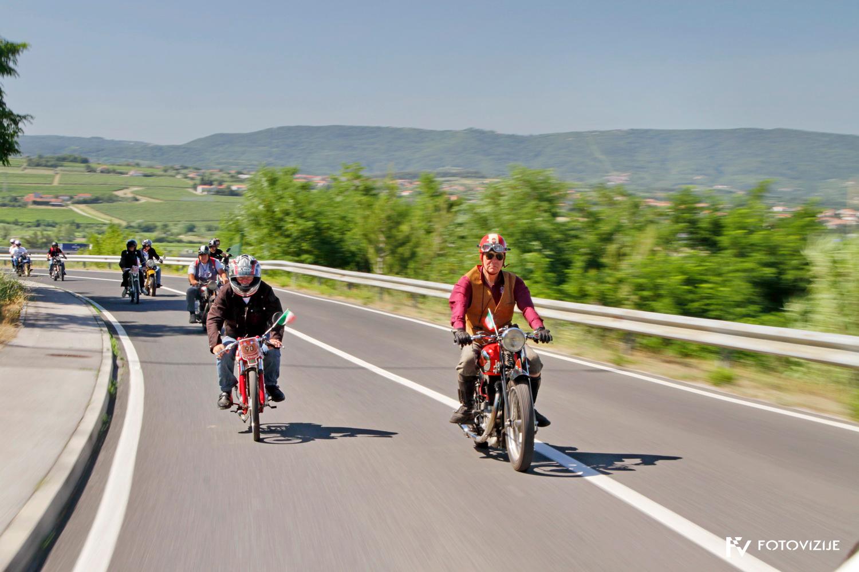 FIVA world moto rally 2019, tretji dan - slovenska Istra