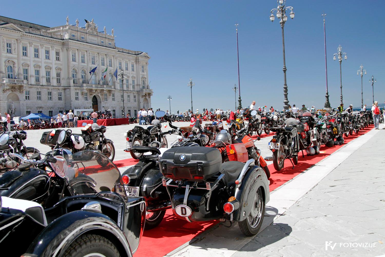 FIVA world moto rally 2019, tretji dan - Trst
