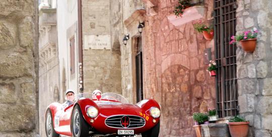 Fotografiranje dirke Mille Miglia 2019
