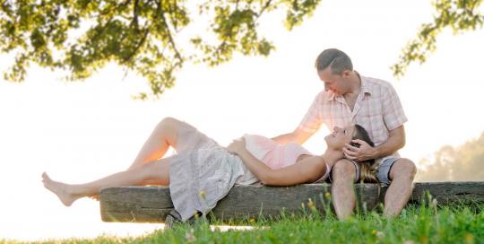 Nosečniška fotografija - Monika in Borut ter (Karina)