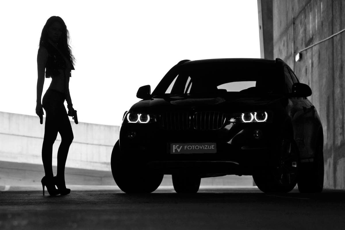 Samantha in BMW