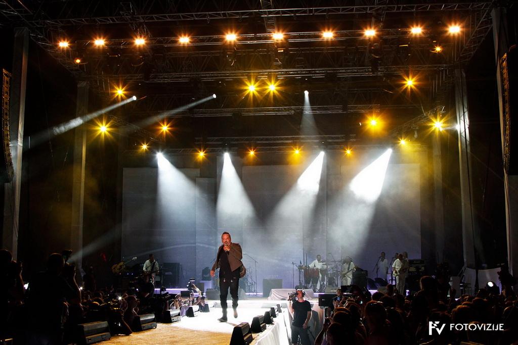 Koncert Tony Cetinski, arena Pula, 2015