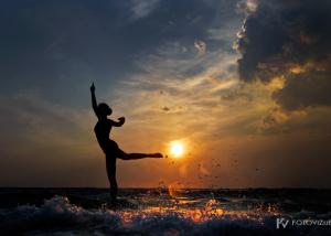 Morske silhuete balerine Vite