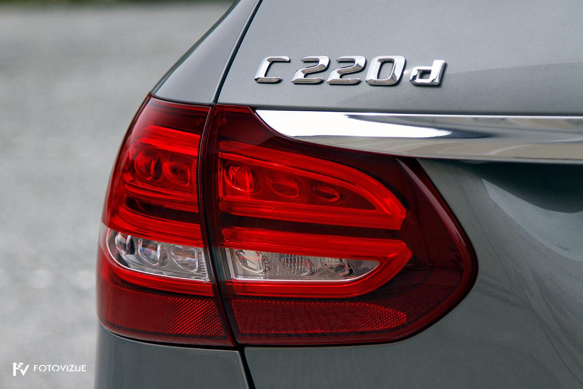 Mercedes-Benz C 220d karavan Avantgarde-Luxury 2016 - zunanjost - zadnje LED luči