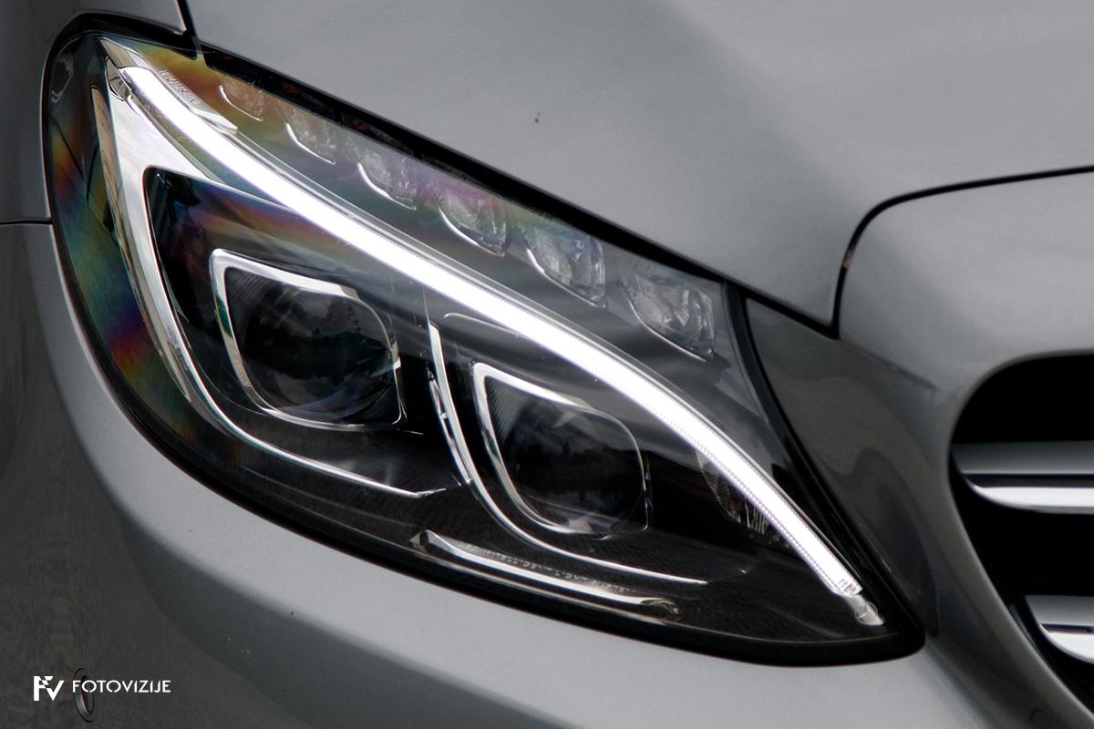 Mercedes-Benz C 220d karavan Avantgarde-Luxury 2016 - zunanjost - prednje full LED luči
