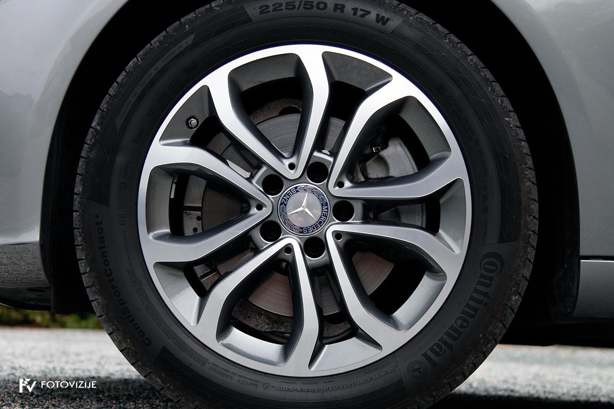 Mercedes-Benz C 220d karavan Avantgarde-Luxury 2016 - 17-palčna kolesa