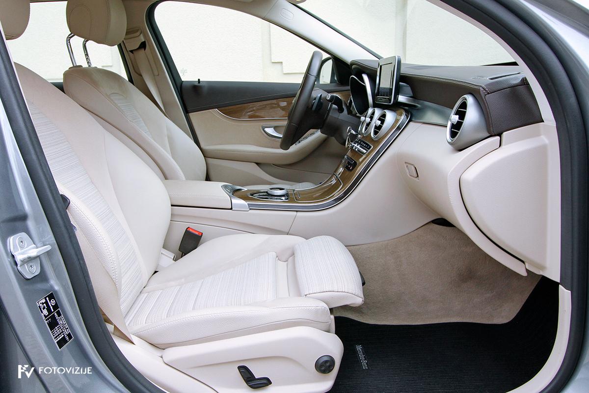 Mercedes-Benz C 220d karavan Avantgarde-Luxury 2016 - notranjost