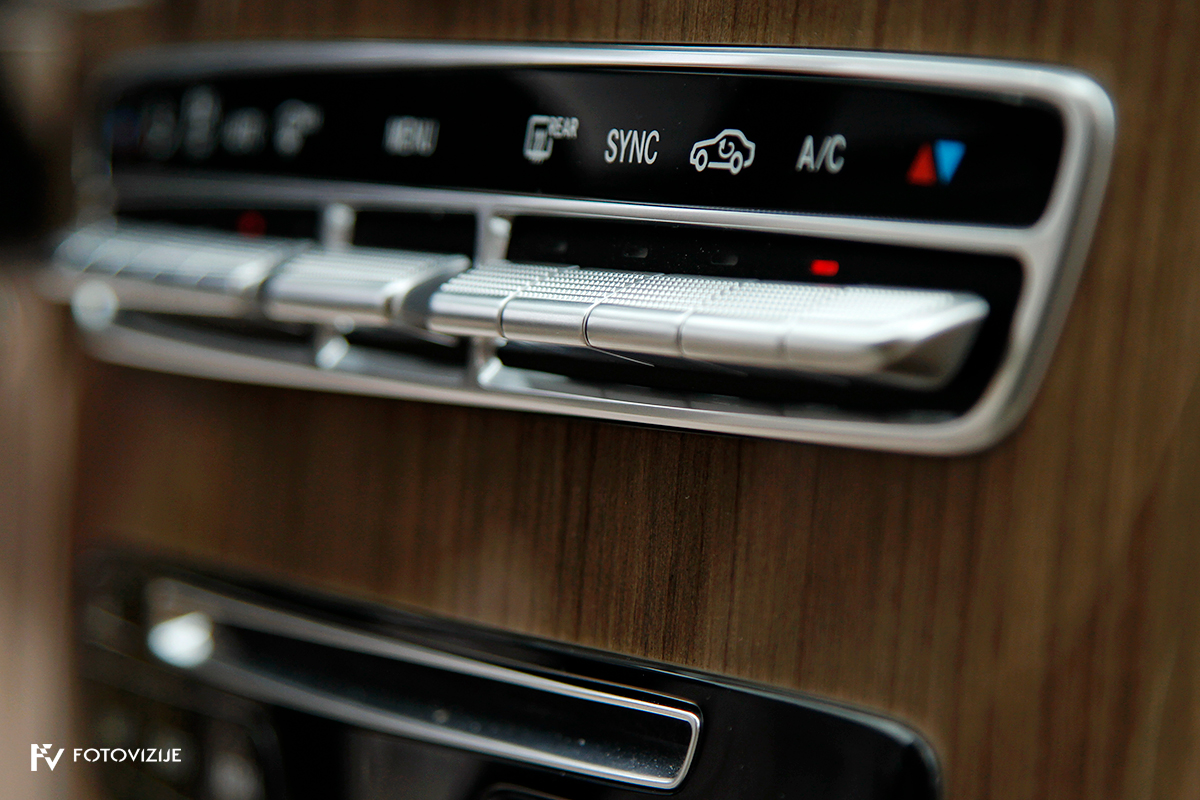 Mercedes-Benz C 220d karavan Avantgarde-Luxury 2016 - 2-kanalna klimatska naprava