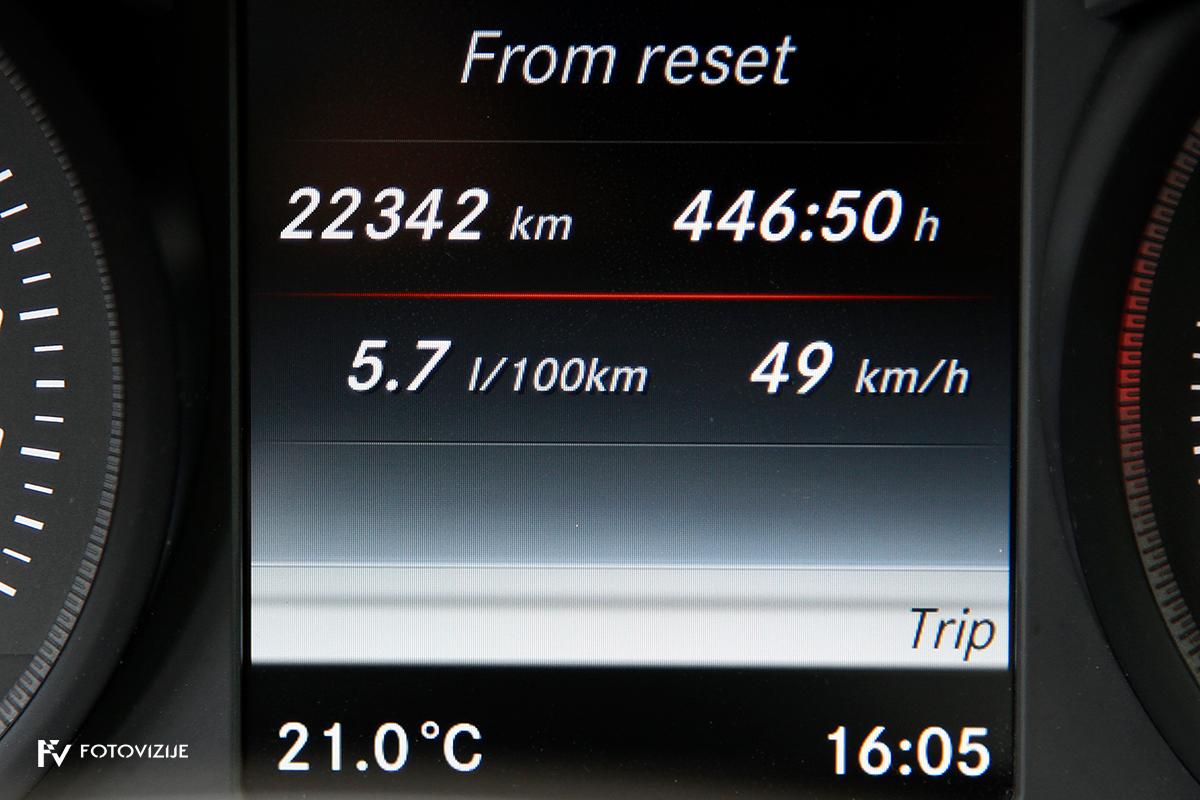 Mercedes-Benz C 220d karavan Avantgarde-Luxury 2016 - potovalni računalnik in zelo lepo povprečje 5,7 l/100 km na 22.342 prevoženih kilometrih!