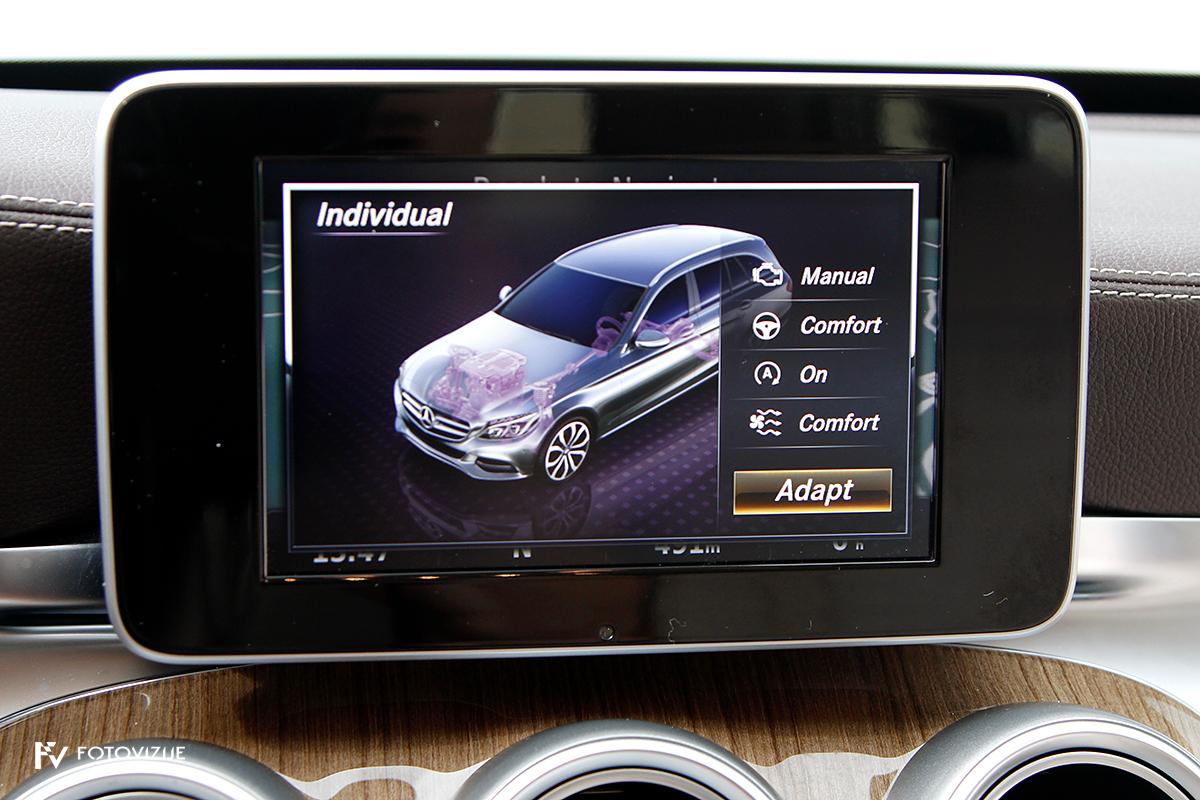 Mercedes-Benz C 220d karavan Avantgarde-Luxury 2016 - konfiguracija različnih elementov vozila