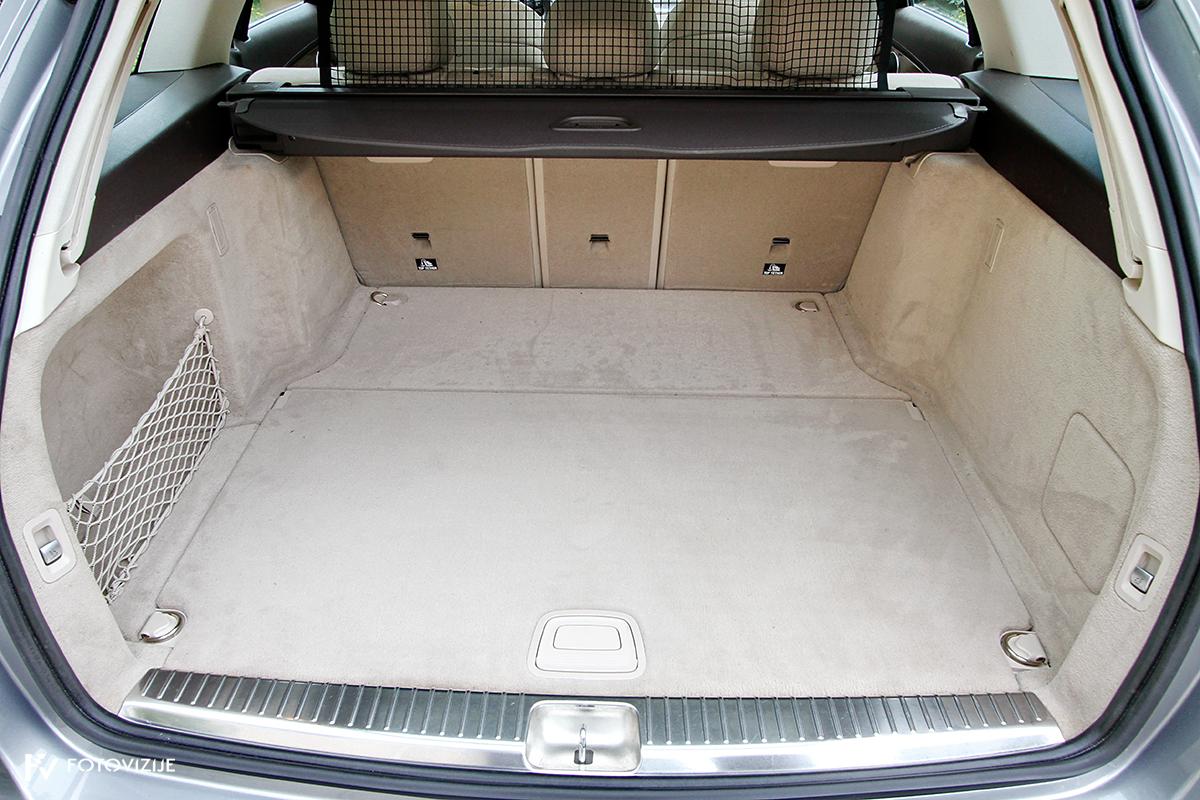 Mercedes-Benz C 220d karavan Avantgarde-Luxury 2016 - prtljažni prostor z zaščitno mrežo