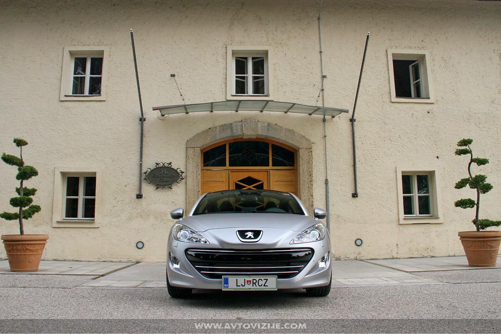 Peugeot RCZ asphalt