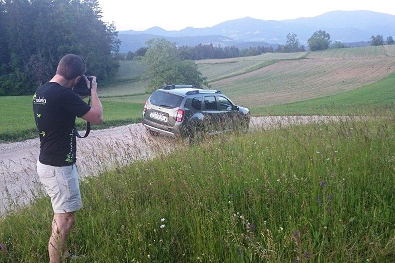 Fotografiranje dacie duster