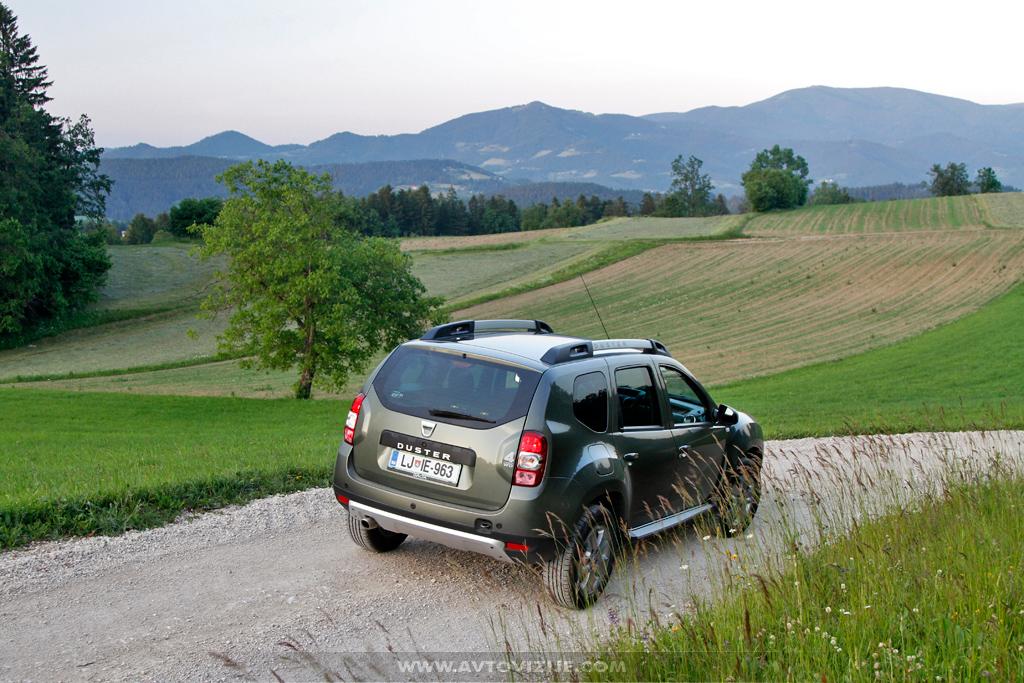Dacia duster na Koroškem