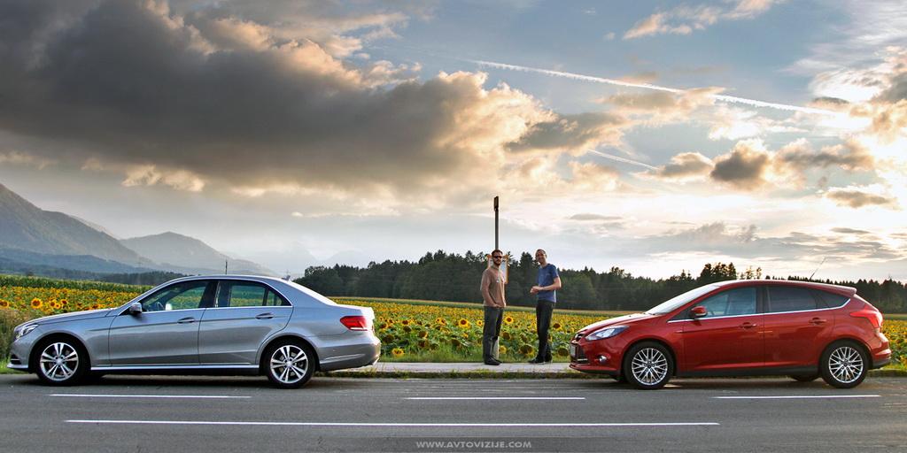 Mercedes, Jure, Peter, Focus