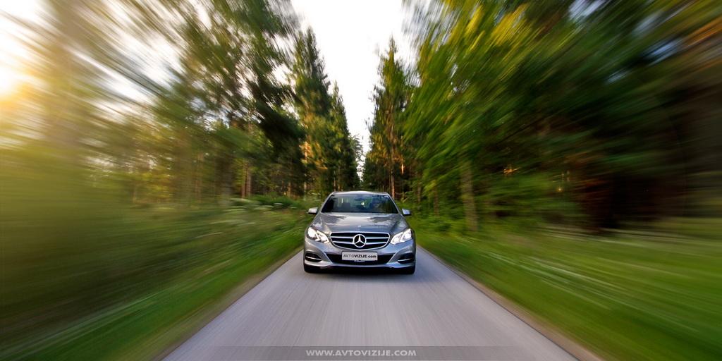 Mercedes E-razred dinamika