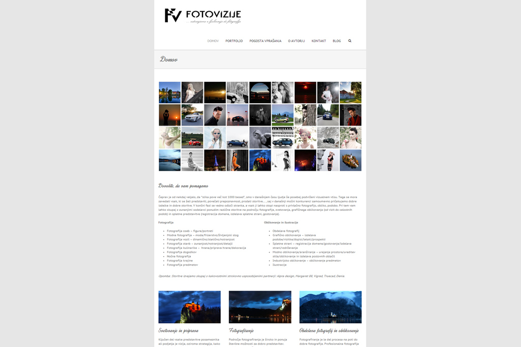 Nova stran Fotovizije