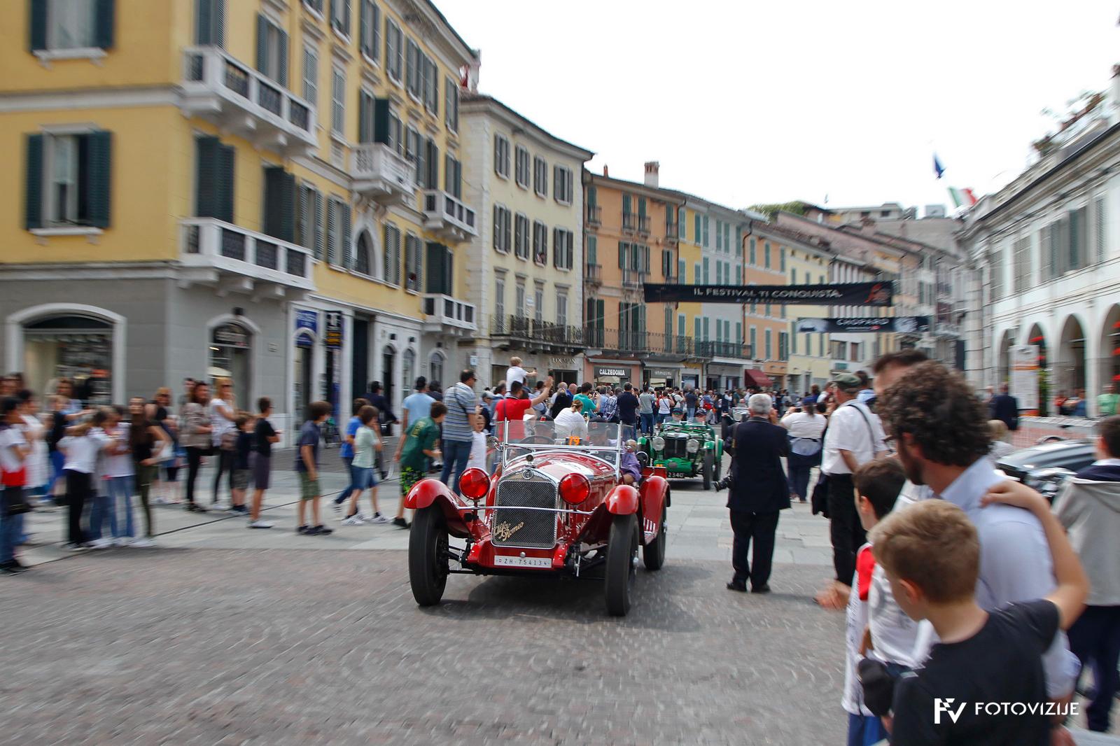 Na začetku dirke Mille Miglia