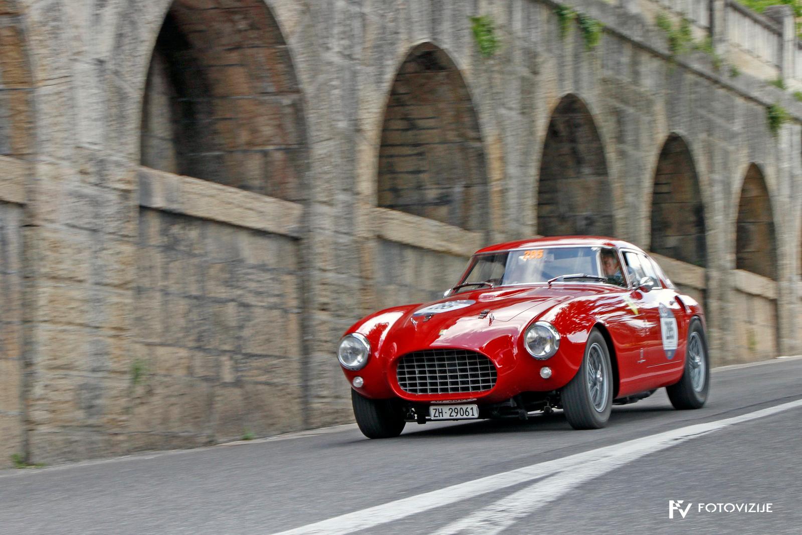Ferrari na izhodu iz San Marina