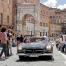 Mille Miglia 2018: Mercedes 300 SL na znani Piazzi del Campo, v osrčju Siene