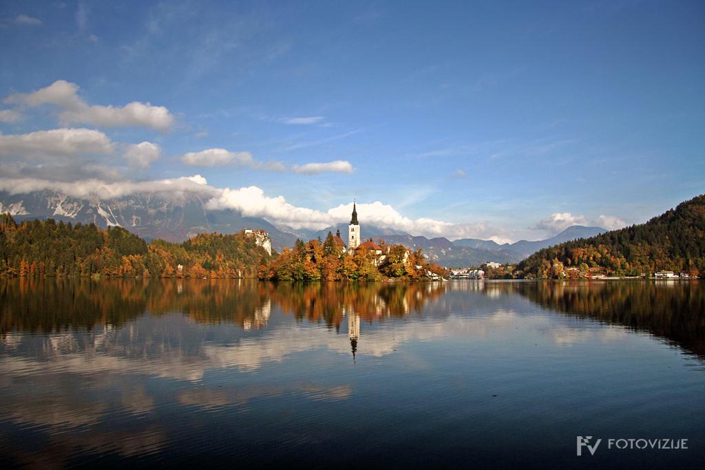 Blejsko jezero v jeseni