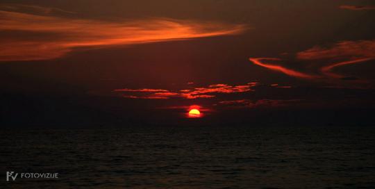 Sončni zahod Rovinj