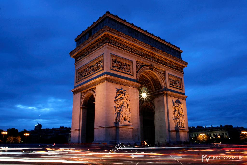 Pariz - Slavolok zmage
